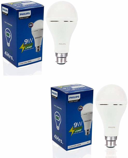 PHILIPS 9W Rechargeable Emergency Inverter led bulb Bulb Emergency Light