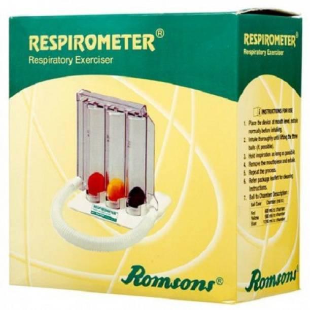 Romsons Spirometer/ Respirometer/ 3-Ball Exerciser/ Lung Exerciser 3-Ball Respiratory Exerciser