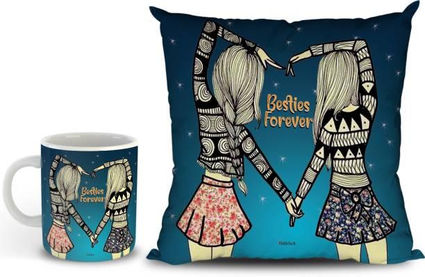 OddClick Mug, Cushion Gift Set