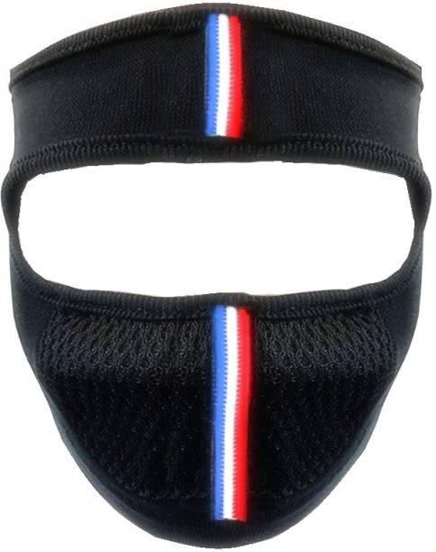 AUTYLE Black Bike Face Mask for Men & Women