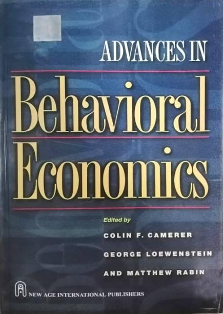 Advances in Behaviour Economics