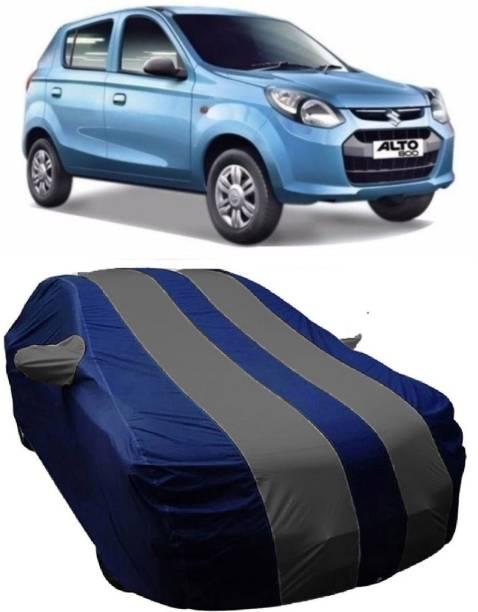 MoTRoX Car Cover For Maruti Suzuki Alto 800 (With Mirror Pockets)