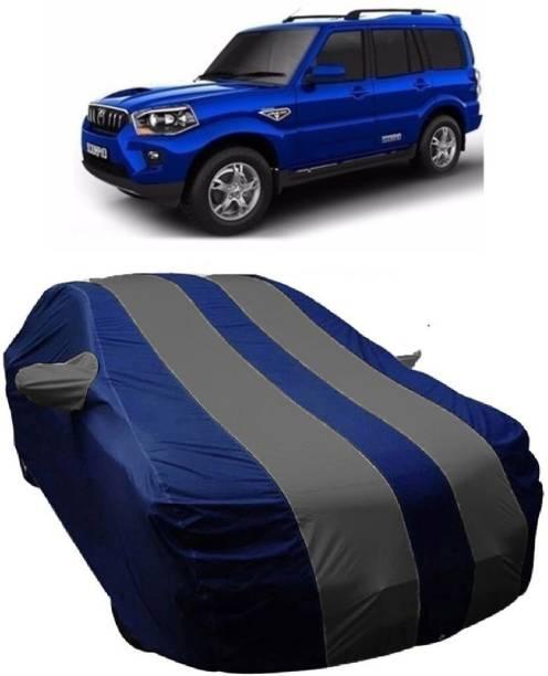 MoTRoX Car Cover For Mahindra Scorpio (With Mirror Pockets)