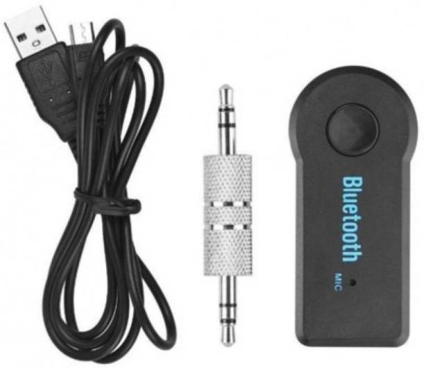 AVMART v4.0 Car Bluetooth Device with FM Transmitter, USB Cable, Transmitter, Audio Receiver