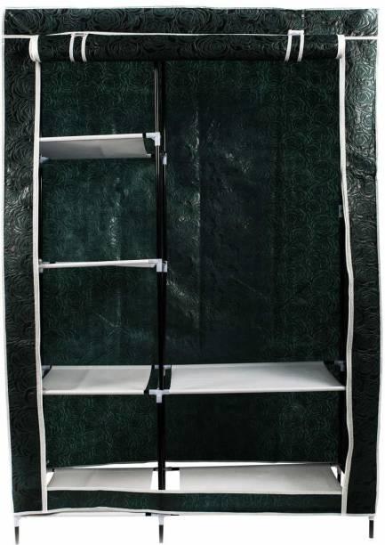 GTC Foldable 6+2 Racks (88105-5) Polyester Collapsible Wardrobe