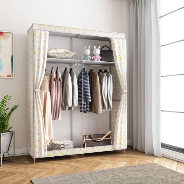 Flipkart SmartBuy 2-Door 4-Shelf PP (Polypropylene) Collapsible Wardrobe