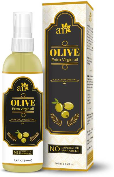 aromamusk 100% Pure Cold Pressed Extra Virgin Olive Oil For Hair And Skin Hair Oil