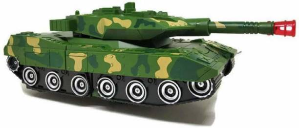PRANAM GT Deformation Combat Tank Transformer Robot Toy with Light, Music and Bump Function Tank Robot for Kids