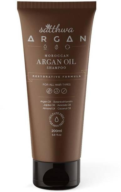 Satthwa Argan Oil Shampoo - No Sulfates