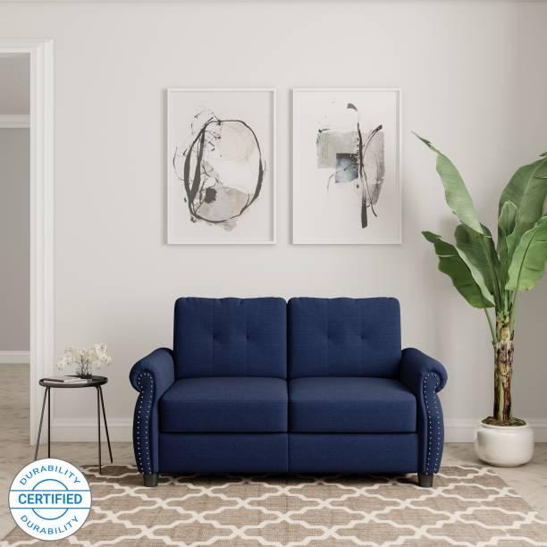 Flipkart Perfect Homes Tallinn Fabric 2 Seater  Sofa