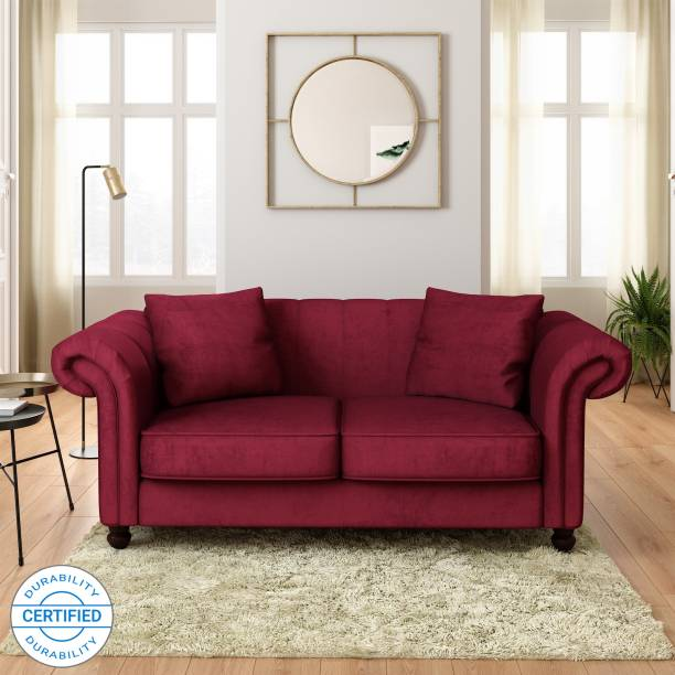 Flipkart Perfect Homes Annecy Fabric 2 Seater  Sofa