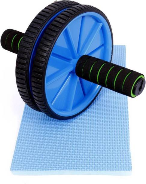 ADONYX Abdominal Roller For Home & Gym Workout Exercise Equipment Ab Roller Ab Exerciser