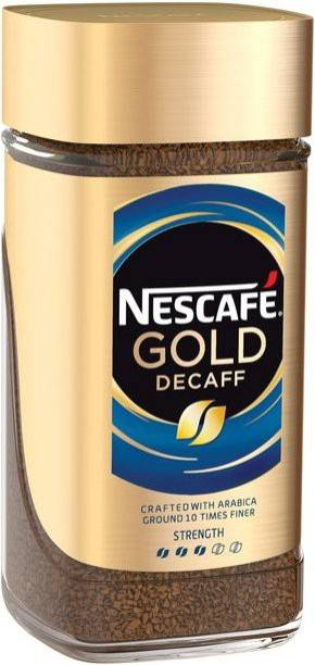 Nescafe Gold Decaff Coffee Instant Coffee