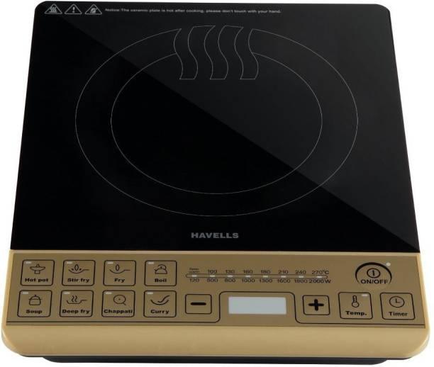 HAVELLS Insta Cook ST-X 2000-Watt Induction Cooktop Induction Cooktop