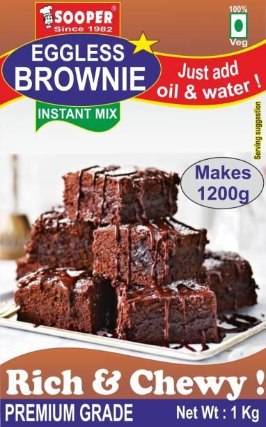SOOPER EGGLESS BROWNIE 1 kg