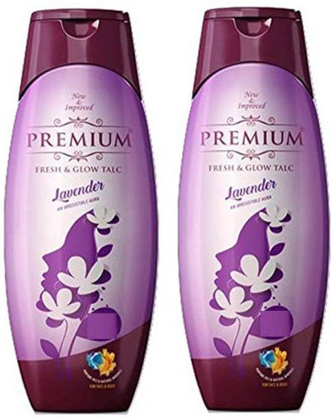 PREMIUM LAVENDER TALC 300 g Pack Of Two