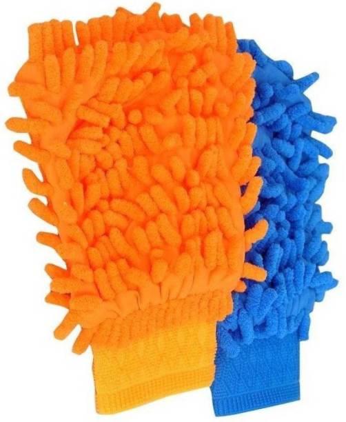 SK Microfiber Vehicle Washing  Hand Glove
