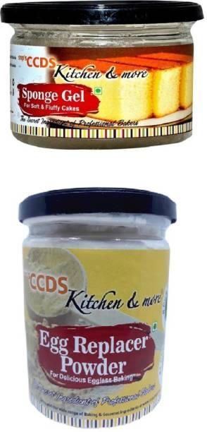 CCDS Sponge Gel + Egg Replacer Powder Self Rising Flour Powder