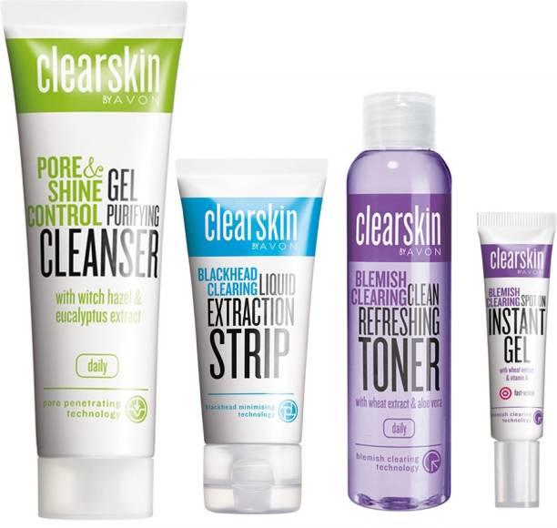 AVON Clearskin Skin Care (set of 4)