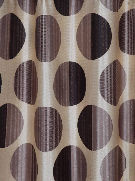 Cortina 270 cm (9 ft) Polyester Long Door Curtain (Pack Of 2)
