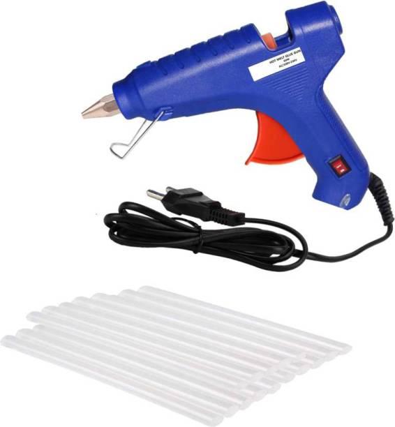 NBS Glue gun 20w with 10 glue stick 7mm Standard Temperature Corded Glue Gun