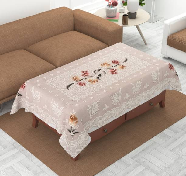 FAIRY HOME Self Design 4 Seater Table Cover