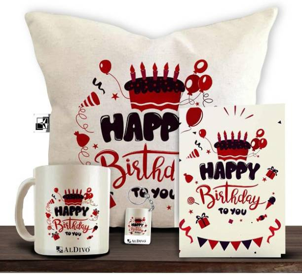 alDivo Mug, Greeting Card, Cushion, Keychain Gift Set