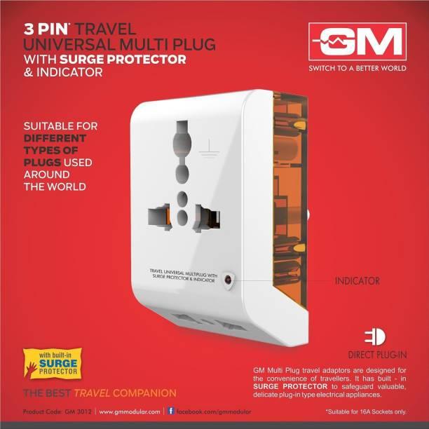 GM gm3012 Three Pin Plug