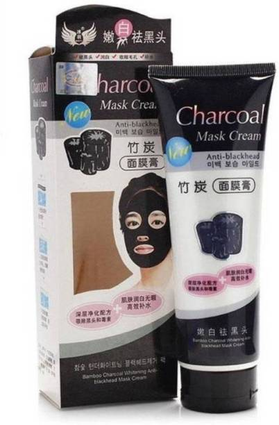 kanyka CHARCOAL MASK CREAM FOR DAILY POLLUTION FREE SKIN