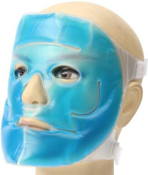 Skylight Blue Gel Face Mask Use For Hot And Cold Therapy For Men And Women  Face Shaping Mask