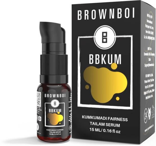 BrownBoi BBKUM Kumkumadi Fairness Tailam Serum For Radiance Face Glow