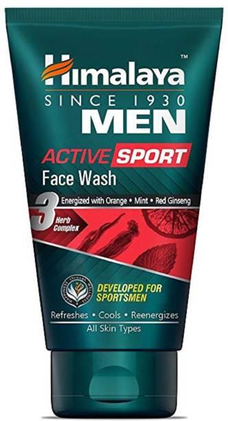 HIMALAYA ACTIVE SPORT FACE WASH FOR SPORTSMEN Face Wash