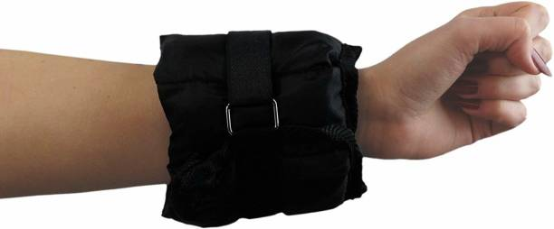 Matrica ® 1Kg Each Wrist/Ankle Weights Sand Bags Black Ankle & Wrist Weight
