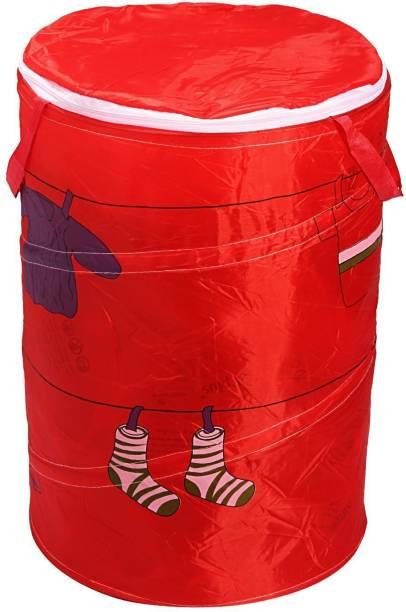 BUCKETLIST 50 L Red Laundry Basket