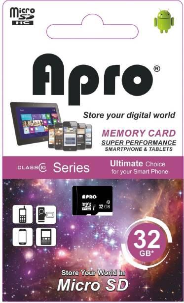Apro ULTRA Pro+ 32 GB MicroSDHC Class 10 25 MB/s  Memory Card