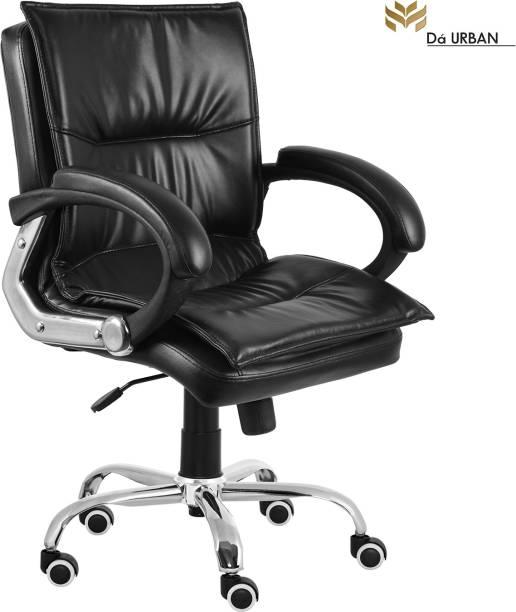 Da URBAN Miller Mid-Back Leatherette Office Executive Chair