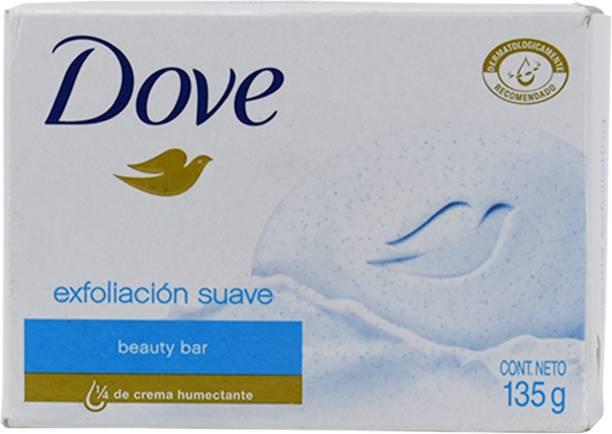 DOVE Beauty Bar, Exfoliacion Suave - 135g