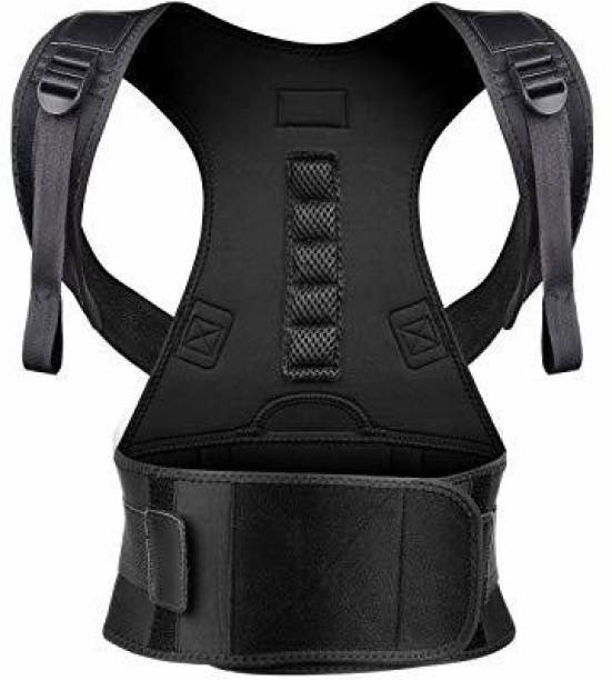 Z-REHAB 10 Big magnets posture corrector belt Back & Abdomen Support