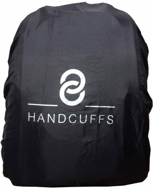 HANDCUFFS Backpack Rain Cover - Large Waterproof Laptop Bag Cover, School Bag Cover, Luggage Bag Cover, Trekking Bag Cover