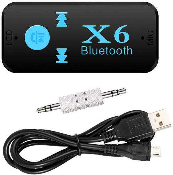 footloose v3.0 Car Bluetooth Device with Adapter Dongle, Audio Receiver, 3.5mm Connector, Remote Control, MP3 Player, USB Cable