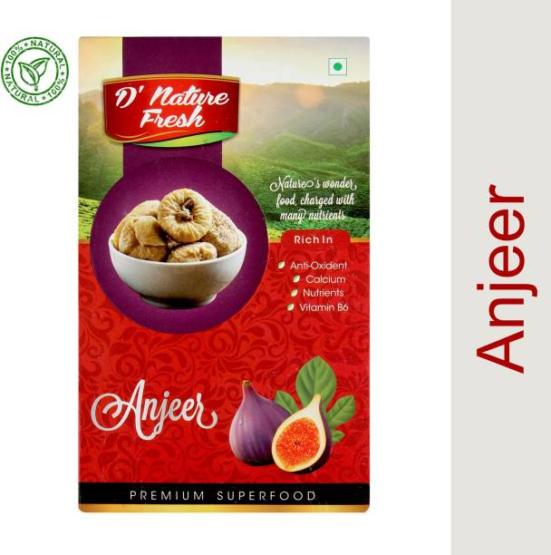 D NATURE FRESH Dried ANJEER 250 gm Figs