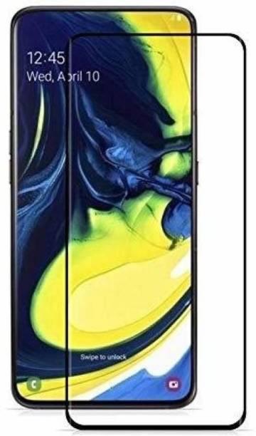 geleser Edge To Edge Tempered Glass for Samsung Galaxy A80 (9H Full Glue)