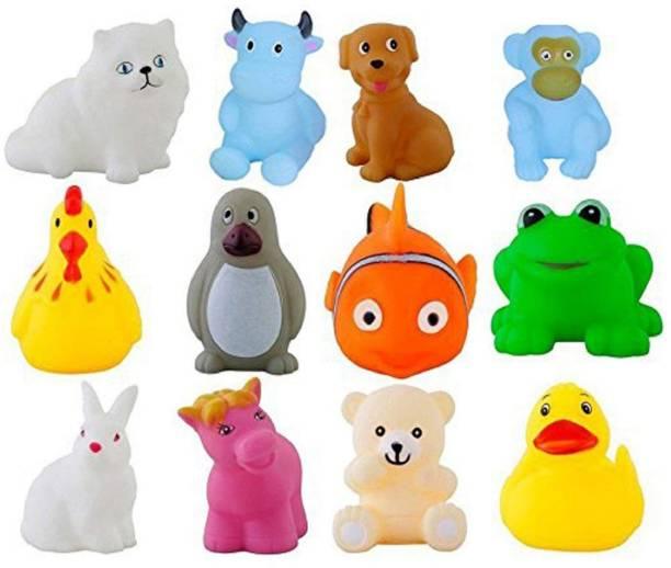 Luxula Bathtub Animal Toy with Chu Chu Sound Bath Toy