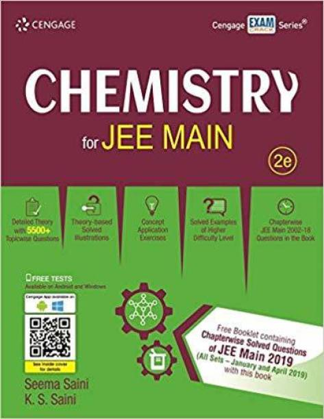 CENGAGE CHEMISTRY FOR JEE MAINS (3e)-2019 With 18 yrs JEE Main (2002-2019) Chapterwise-wise Solved Paper