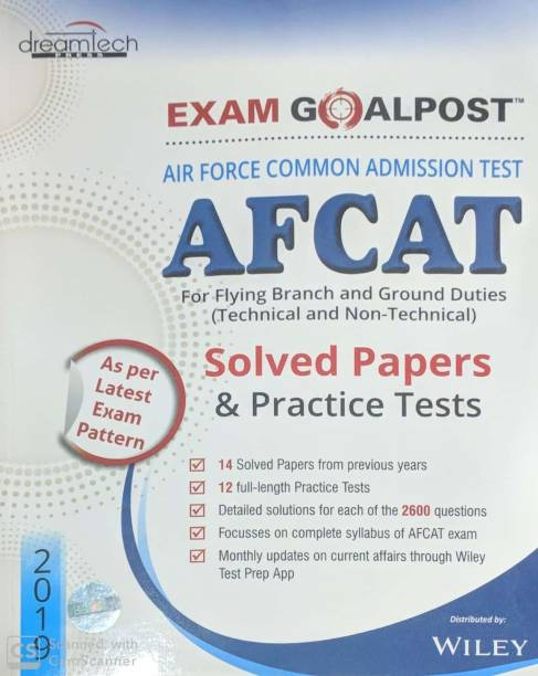 EXAM GOALPOST AFCAT FOR FLYING BRANCH & GROUND DUTIES TECHNICAL & NON TECH SOLVED PAPER & PRACTICE SETS