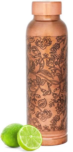 balancehome 100% Pure Copper Water Bottle, tamba copper bottle 1 Litre 1000 ml Bottle