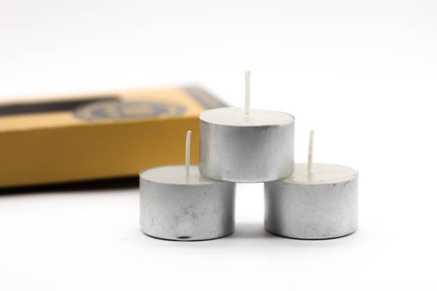 AuraDecor 9 hour Burning Time Tealight Candle Pack of 40 Candle