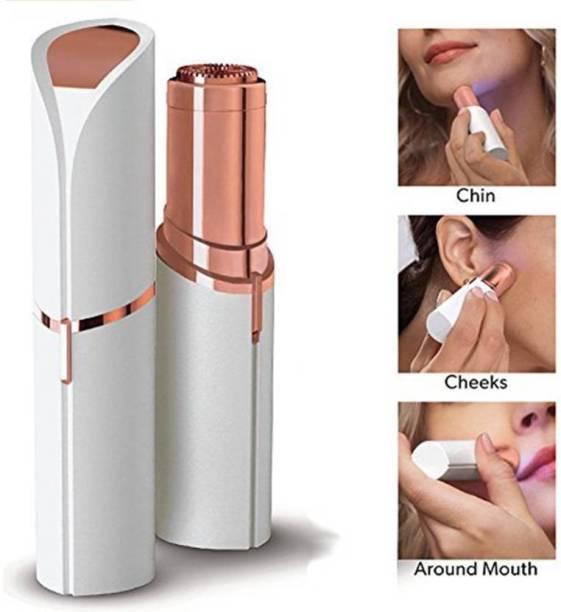 MACVL5 Face Hair Remover Upper Lip, Chin, Eyebrow Trimmer Shaver Machine for Women Runtime Cordless Epilator Cordless Epilator