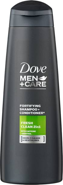 DOVE Men Care Fresh & Clean Fortifying 2-in-1 Shampoo and Conditioner