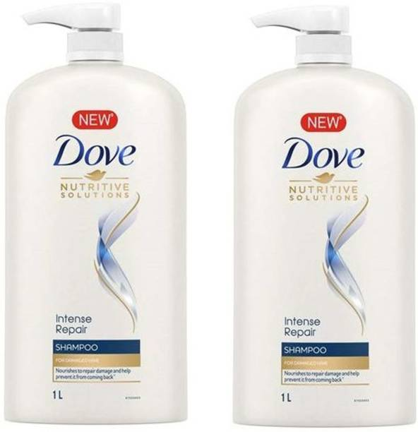DOVE intense repair 1 L pack of 2